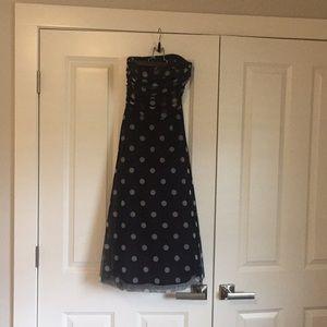 BCBG maxazria polka dot dress